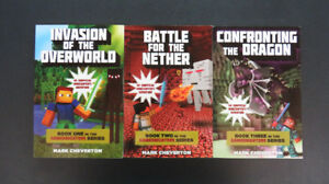 Minecraft Chapter Books #1-3