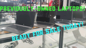 LAPTOPS! PREVIOUSLY OWNED