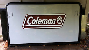 Coleman hybrid tent ends