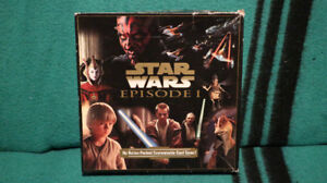 STAR WARS EPISODE 1 CARD GAME - $25.00