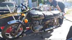 1977 HONDA 550 FOUR K ONLY 13K!    CAFE RACER?