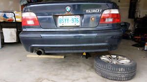 BMW e39 2003 530i parting out