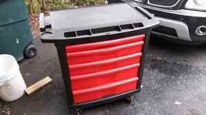 RUBBERMAID TOOL CHEST/CART