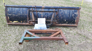 7ft snow plow blade with winch REDUCED