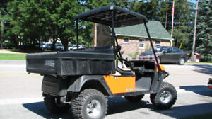 2016 EZGO Terrain 1000, DEMO, Like NEW, 72V Utility Vehicle