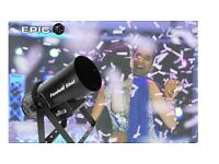 Professional Confetti Cannon/ Bubble Machine Hire - Suitable for Weddings and Parties!