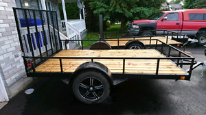 New Custom built heavy duty trailer 6x10