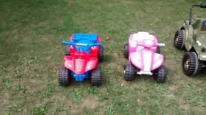 BATTERY OPERATED RIDING TOYS