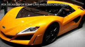 ROX  AUTO   $$CASH$$FOR SCRAP CARS AND USED CARS4165406783