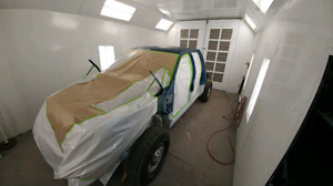 Trade Auto body/paint work for high end computer