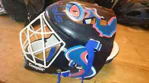 Casque de gardien de but:hockey de rue