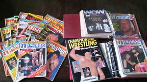 80's Wrestling Magazines