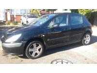 2002 Peugeot 307 1.6 16v GLX 5dr (a/c)