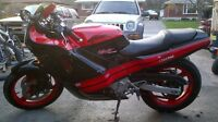 1988 Honda hurricane cbr 600 $1,600 obo