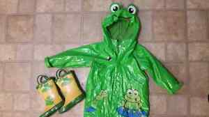 18-24 month TCP raincoat and size 7 rain boots London Ontario image 1