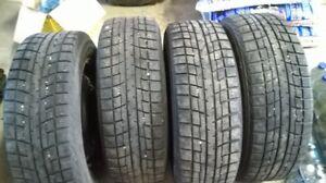 Subaru pneus hiver + jantes Yokohama 205-60R16