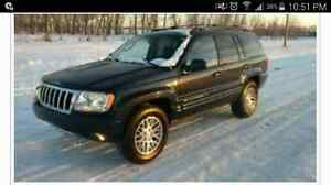 LOW KMS!! 2004 Jeep Grand Cherokee Limited
