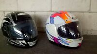 THH and GRIFFIN Motorcycle Helmets