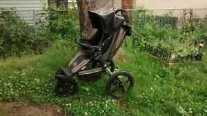 Poussette Baby Jogger Single Stroller, Black/Gray