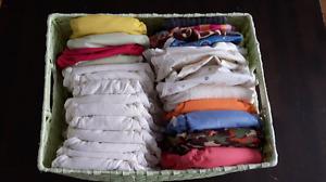 Lot de 20 couches lavables et 7 couvres-couches