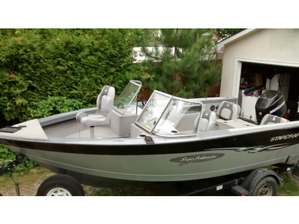 Used 2006 Starcraft Superfisherman 186