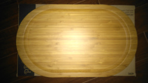 Pampered Chef Bamboo Appetizer Platter