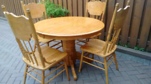 6pc Wooden Dining Set
