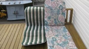seats for reclining lawn chairs