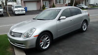 Infiniti G35 2003 comme neuf, Impecable