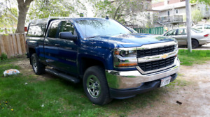 2017 Chevy Silverado Double Cab