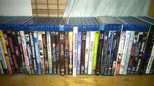 50 bluray movies sold together.