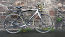 GIANT DEFY .NEW CHAIN, WRAP. FULLY WORKING NO RUSTY FREE DELIVERY FULL