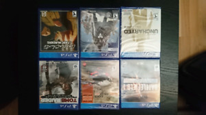 Jeux ps4 neuf - uncharted tomb raider battlefield