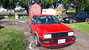 1992 Volkswagen MK2 Jetta 1.6L TD $2000 O.B.O.