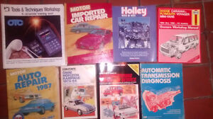 Automotive service and repair books for sale