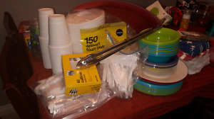 BBQ, picnic, trailer, party supplies