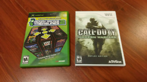 Classic Xbox and Wii Games