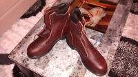 brand new red wing size 13 safety boots