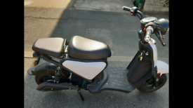 Electric moped scooter bike unregistered