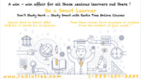 Online Lessons Of SAT-GMAT-EQAO In Affordable Price At Home. ON