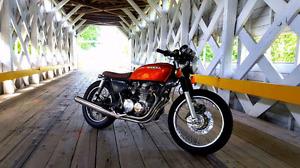 Café racer Cb550 1972