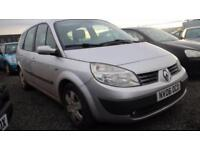 2006 06 RENAULT GRAND SCENIC 1.5 EXPRESSION DCI 5D 106 BHP DIESEL