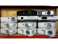 Projector for sale acer,sanyo,hitachi,dell are available.Buy with shop receipt.Few projectors left