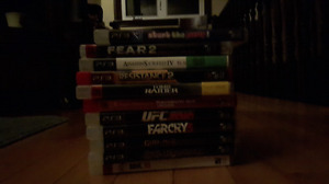 PS3 GAMES FOR SALE!! (Pickup Only)