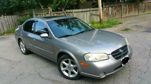 2000 nissan maxima gle fully loaded