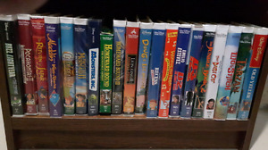 Assorted Disney Movie VHS- can be sold single or as set