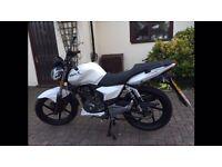 125cc leaner motorbike KSR Worx