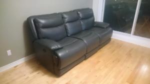 Divan inclinable électrique/Power reclining sofa