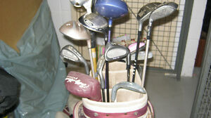 LADIES RIGHT HANDED CLUBS AND BAG