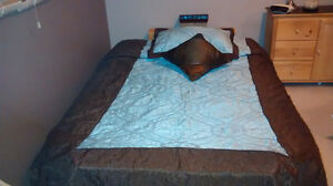 Almost New Double Comforter Set